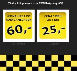 Taxislužba v Rokycanech - TAXI Rokycany